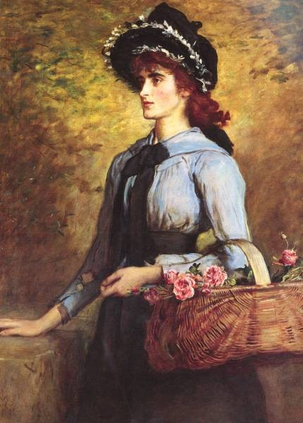 Millais Sir John Everett British Sweet Emma Morland SnD 1892 O C 1213 by 908cm